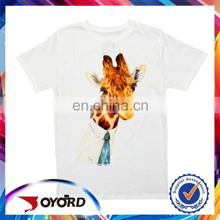 100% polyester stylish shirt, custom any design child t-shirt for sale