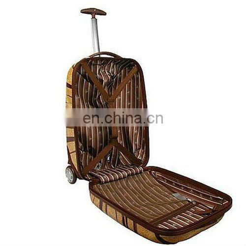Guangzhou elegant tiger skin trolley bag in high quality in 2013