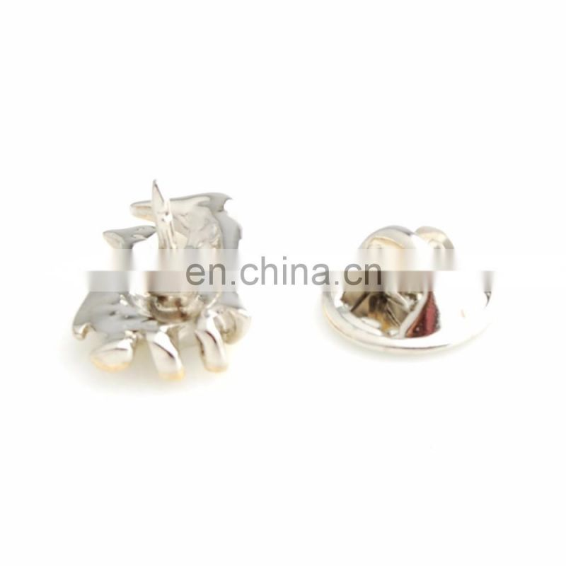 China manufacturer wholesale flower custom lapel pins no minimum