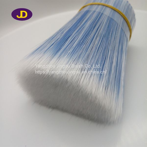 Paint tools white blue color synthetic brush filament (4)