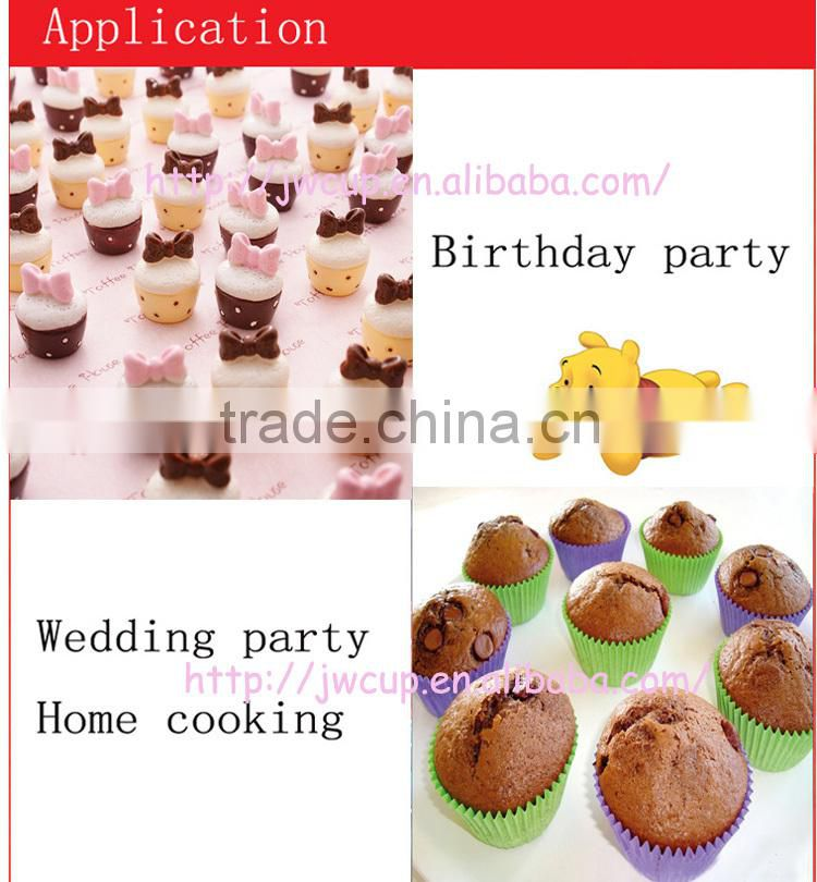 foil cupcakes paper cup for cake decoration, foil cupcake liner in guangzhou