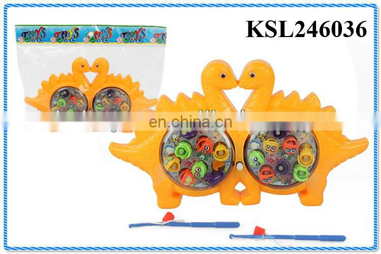 wind up magnetic indoor fishing games
