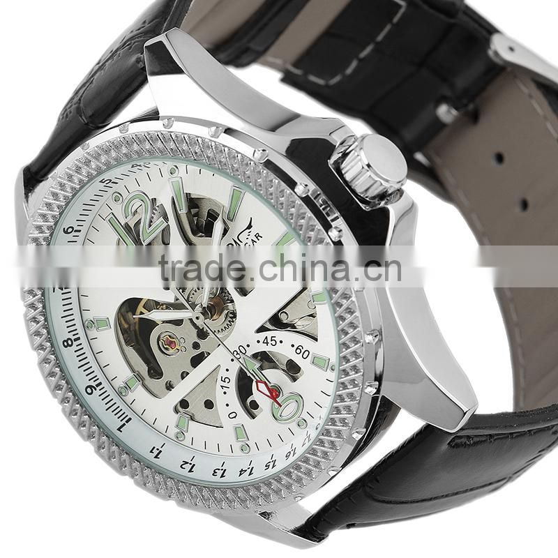 White Analog top selling jagarar watches men luxury brand automatic WM359