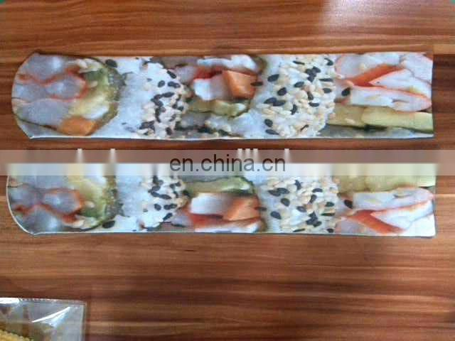 sublimation printed socks in sushi pattern