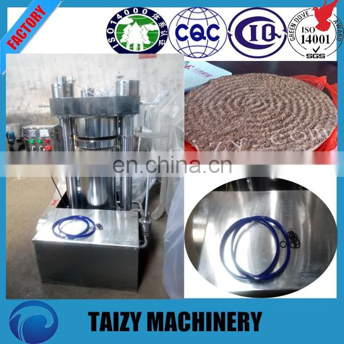 High oil rate hydraulic cold edible/ sesame oil press machine