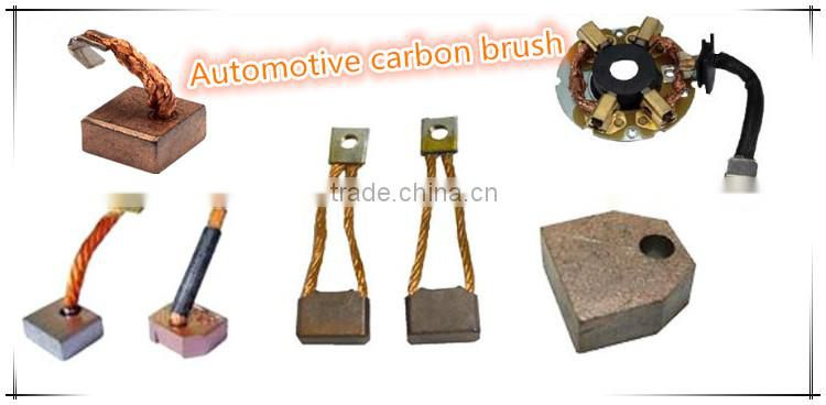 Motor carbon brush of automobile brush from china for Carbon motor brushes suppliers