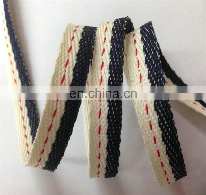 Hops cotton ribbon 1cm width for clothes neckline accessory