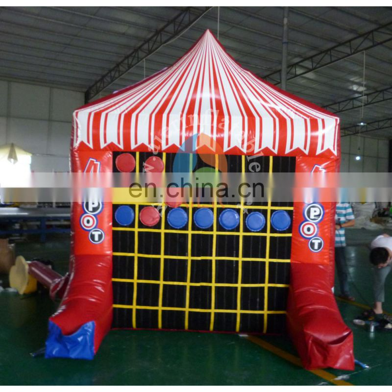 high quality inflatable sport games / inflatable sport equipment Spot& Tic Tac Toe for adult