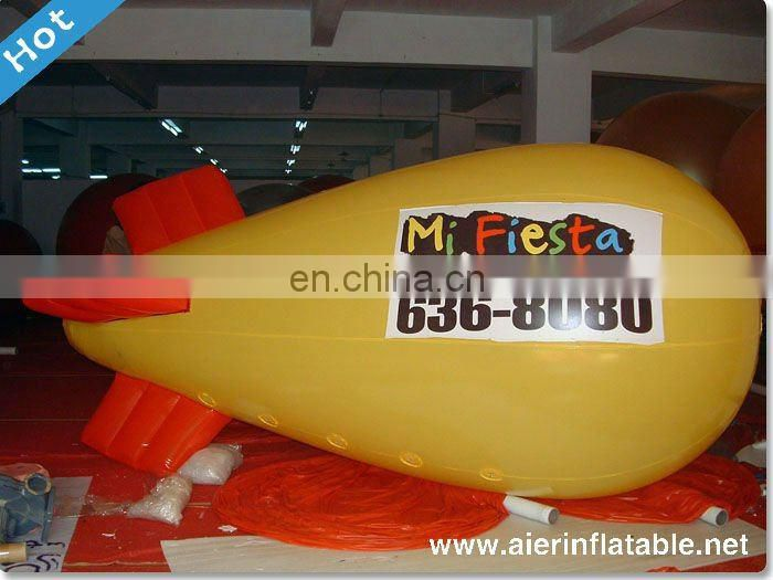 giant advertising inflatable blimp
