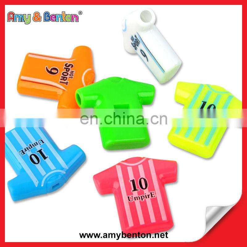 Wholesale Hot Sale Polo Shirt Shape Samba Shirt Whistle Whistles