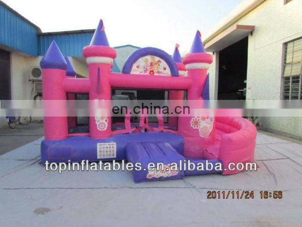 Giant inflatable castle obstacle combo jumper for kids