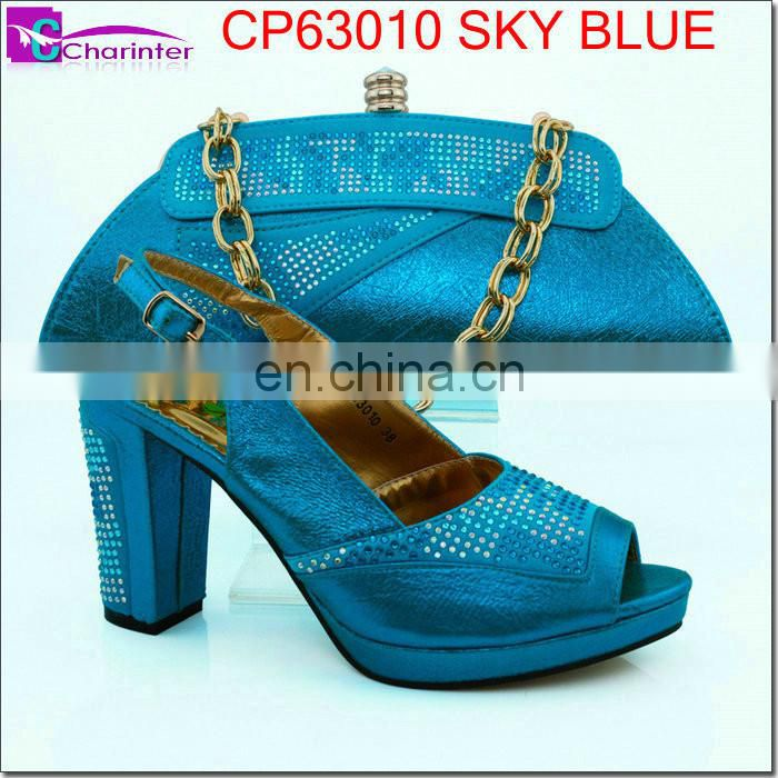 african shoes and bags high heel shoes CP63010