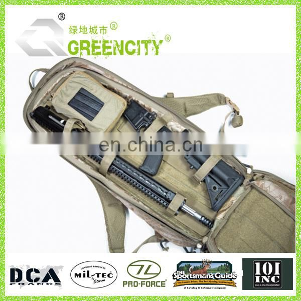 600D Polyester Rifle Backpack Gun Pack