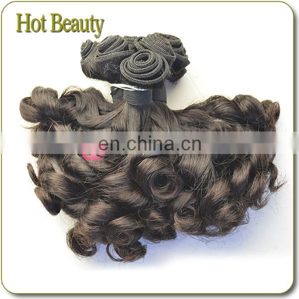 wholesale 9A grade double drawn four heads flat magical curl