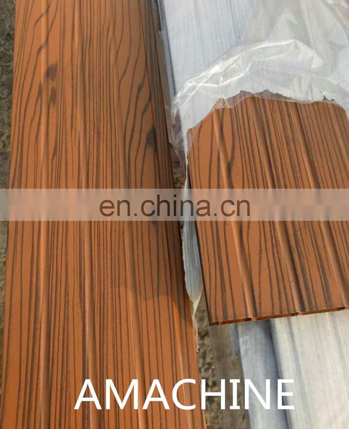 Excellent window and door wood grain transfer machine