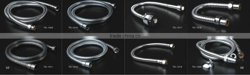 sink hose stainless steel brass plating shower hose