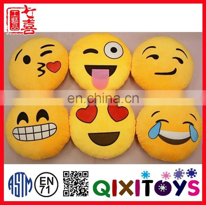 factory sale new design pillow emoji pillow devil stuffed toy