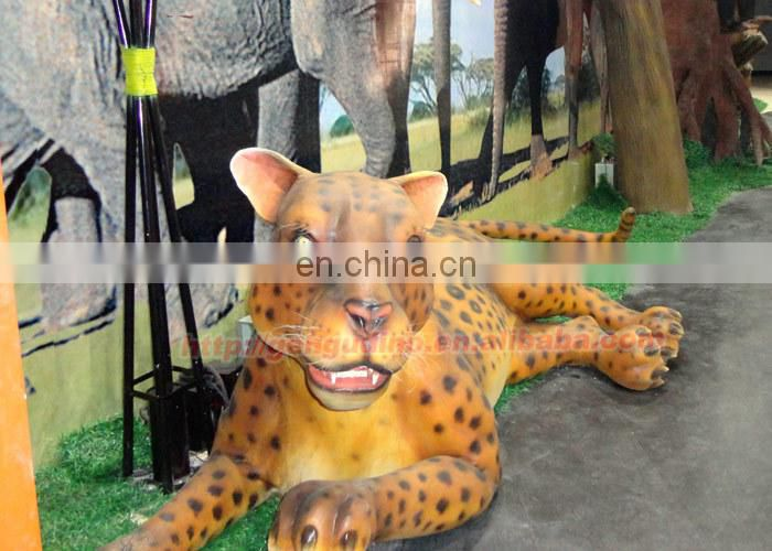 animatronic life size animals,smilodon