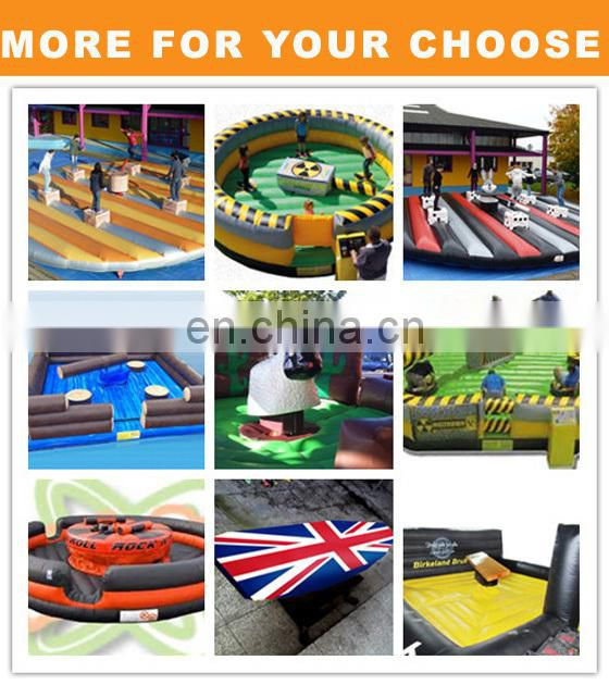 2017 Hot Sale Inflatable Mechanical Bull Rodeo American Football Riding Toys Mattress