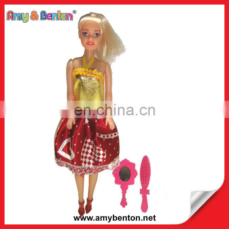 Cheap Classical Plastic Beauty Doll For Girl Toy Barbies