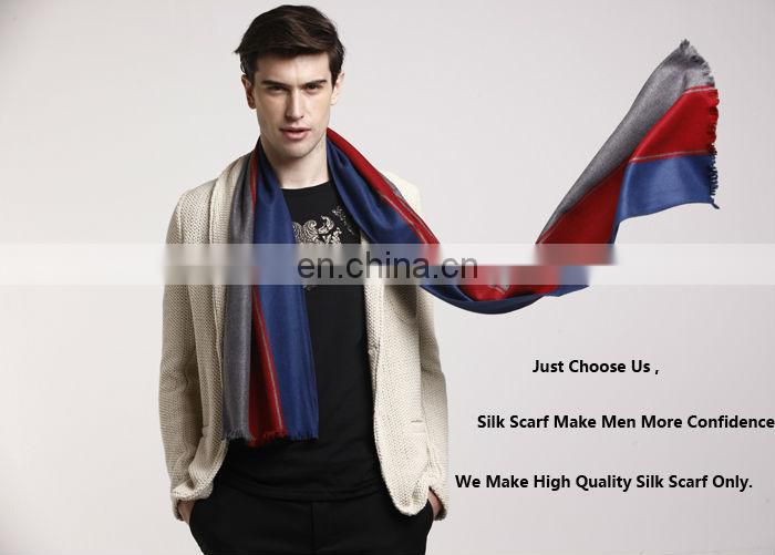 Winter Warm Man Solid Color Cotton Scarf