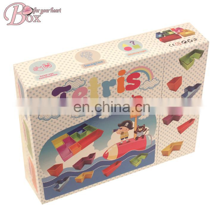 Shantou Shicheng Children Cardboard Funny Puzzle Toys