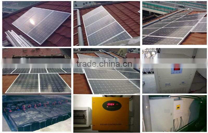 10KW Complete Solar Electric Systems Kits For House,CE Approved With Solar Inverter Controller,Battery Take Your Home Lo