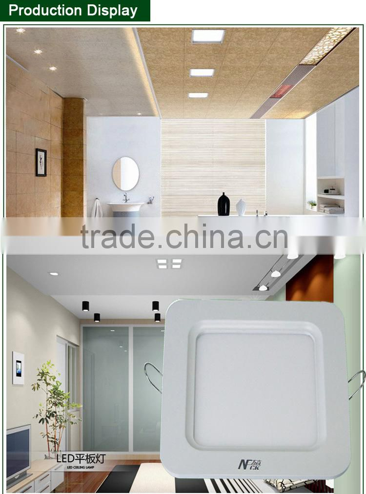 LED light panel light 12w LED flat panel light eyeshield SMD2835 85-265V LED panel light