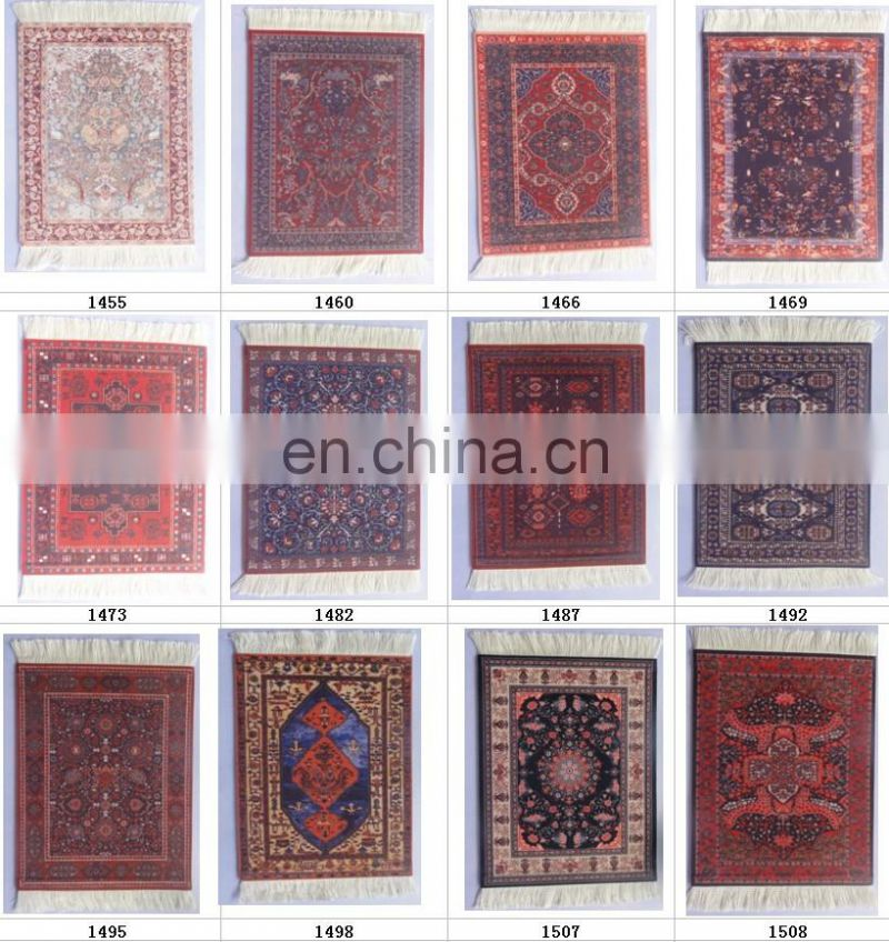 2018 New Sublimation printing custom oriental rug mouse pad
