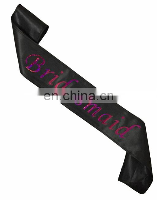 bachelorette party decoration hologram mother of groom sash