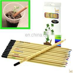 natural promotion wood flower fruit grass seeds sprout color pencil