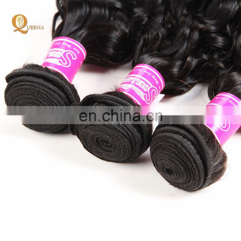 Grade 9A Virgin Hair Real Tangle Free Brazilian Virgin Human Hair Weave Brazilian Water Wave Hair Extensions