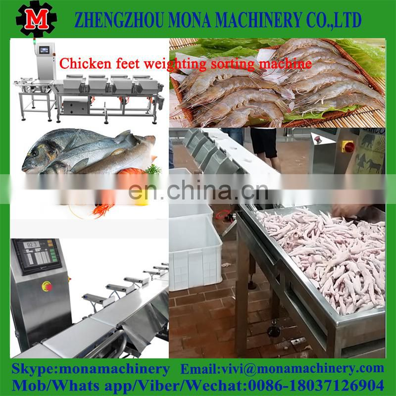 Newest arrival Large Productivity reasonable price Fish/Shrimp sorting machine separator for Shrimp/Fish Selecting machine