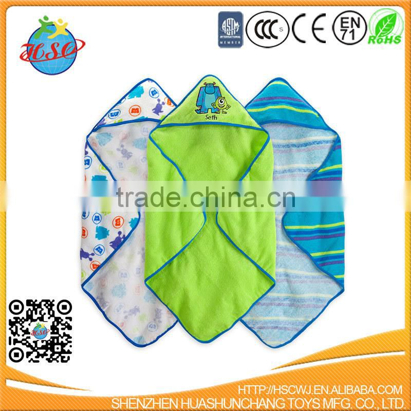 hot selling embroidery baby bath towel