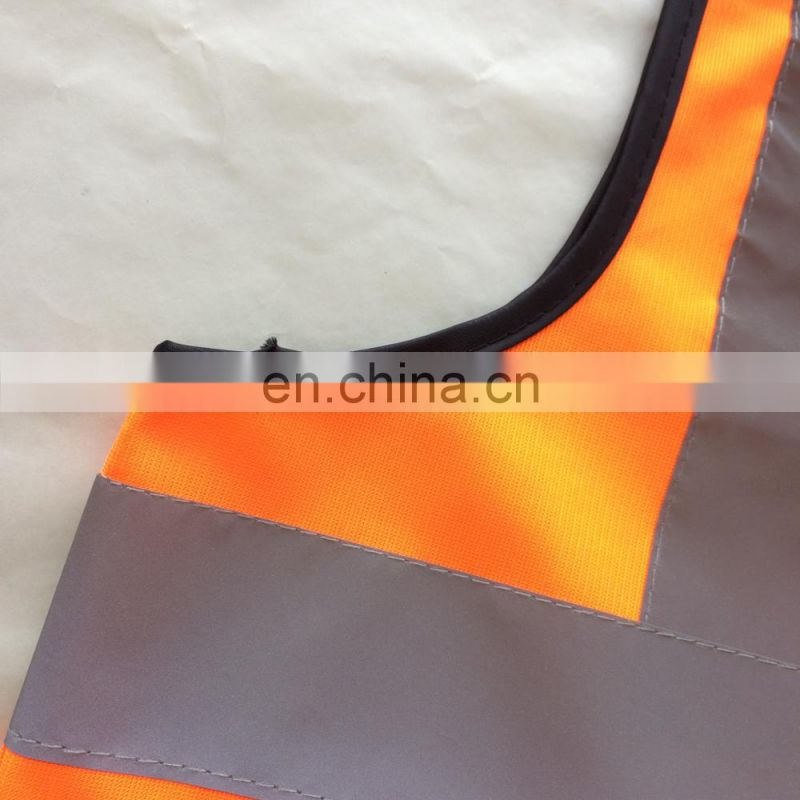 orange/green/yellow safety vest/ reflective clothing warning safety vest