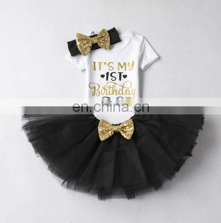 Sparkle Glitter Birthday Tutu Dress Sequin Bow Flower Girl Frock Tulle Dress Birthday Outfit