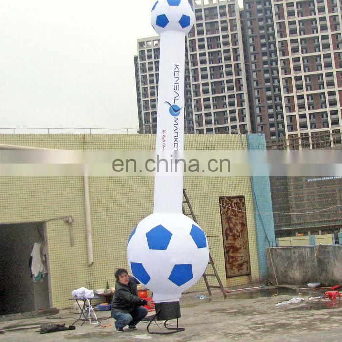 Soccer advertising inflatable waver