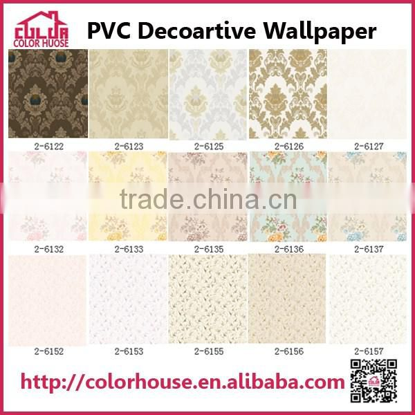 Hot sale popular 3d designs wallpaper/wall mural home decor