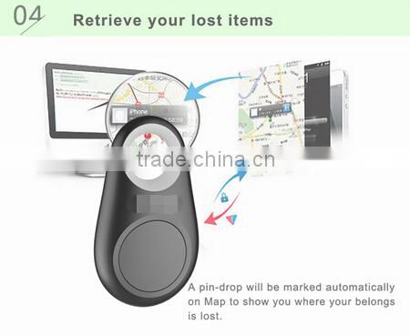 New Mini Wireless Smart Bluetooth Key Finder iTag Bluetooth Anti lost Device Pet Cat Dog Kids Wallet Bag Tracker 5 Colors