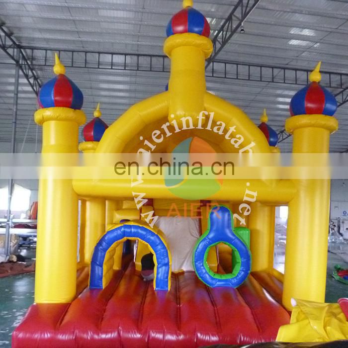 inflatable bouncer castle,outdoor or indoor commercial bounce house for1 child play