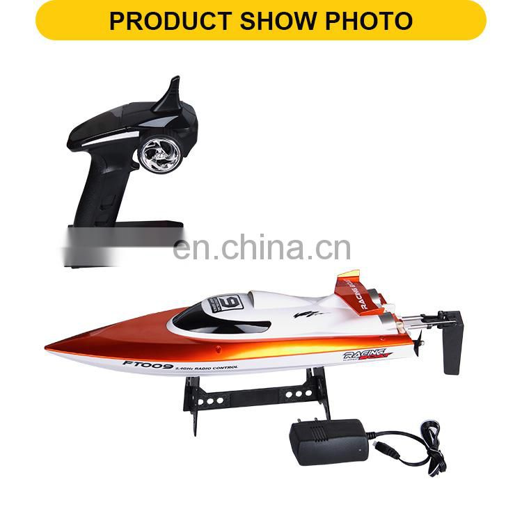 2.4G 4 channels remote control kids toys high-speed Electric RC boat with charger