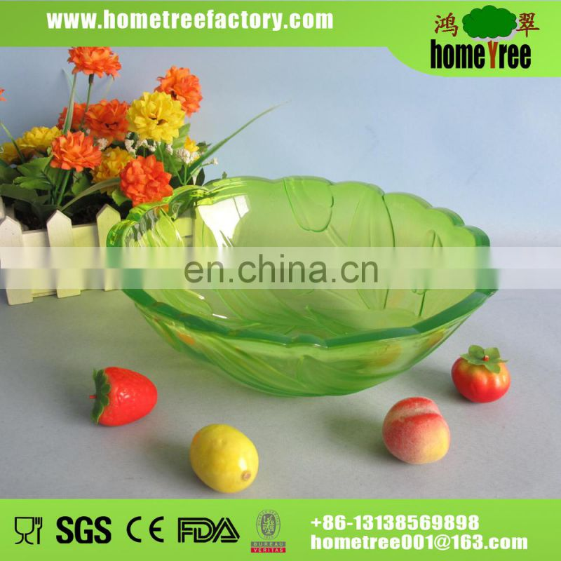 plastic fruit dish/fruit plate