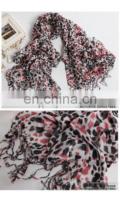 viscose winter charms scarf with multicolor for charming lady(PV-10102802)