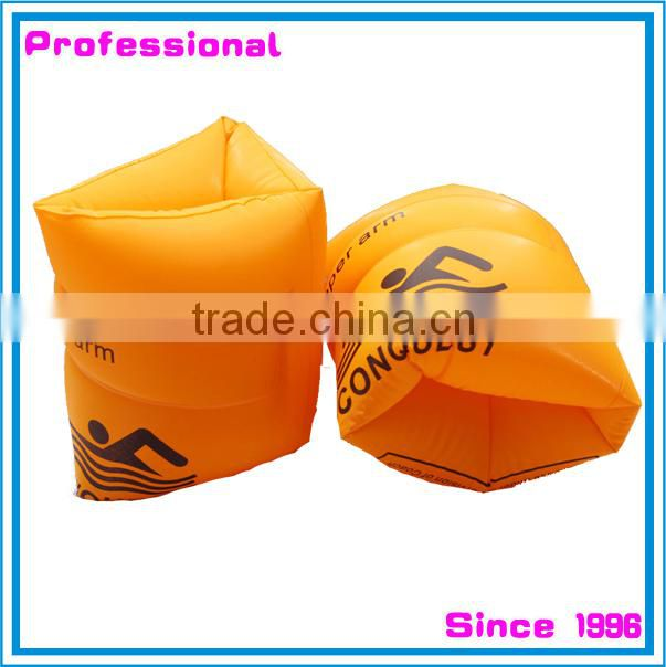 Fabric cover PVC inflate swim wings arm bands