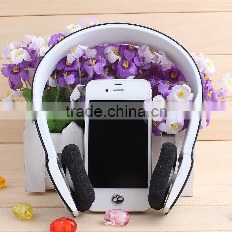 bluetooth headset with microphone handsfree music and phone call for any bluetooth device CE FCC RoHS BQB