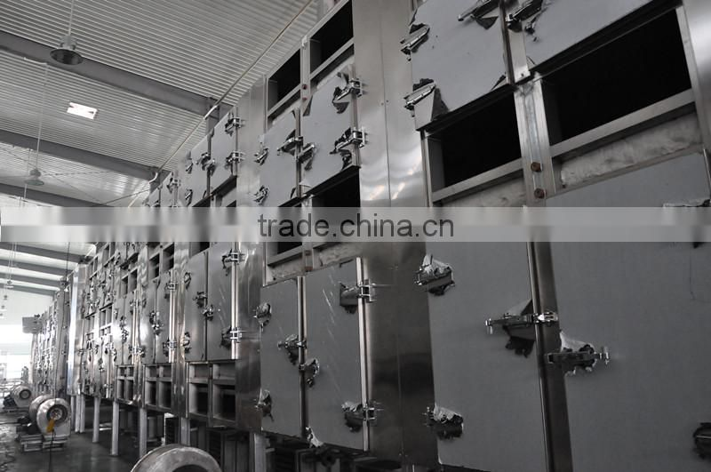 Walnut kernel Multiple layer continuous type mesh belt dryer