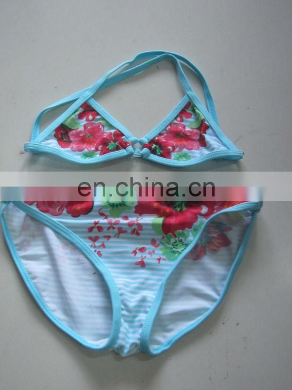 Kids swimming suit high quality infant Swinwear /Hot style Bikini Trade assurance supplier (YD7201)