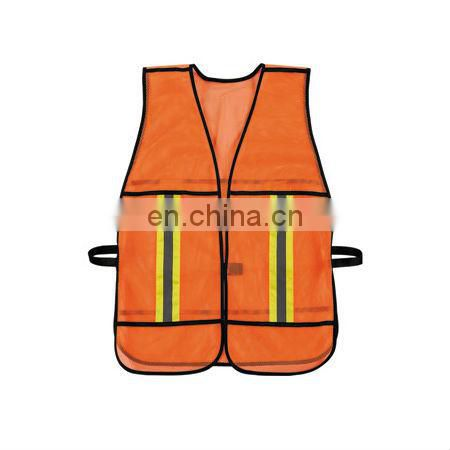 High Visibility Reflective Mesh Security Safety Vest