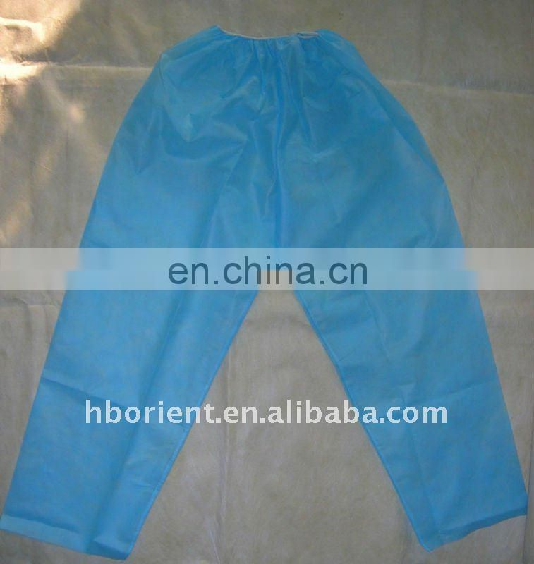 high quality single use hospital use patient suit from manufacturer