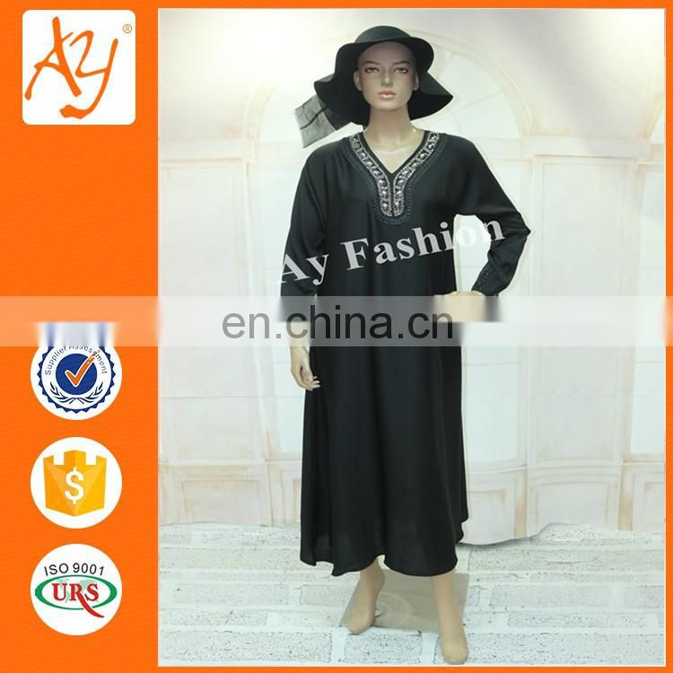 0b4d524188b33 Product Description. Guangzhou Clothing Factory ladies latest simple long  sleeve abaya designs wholesale ...